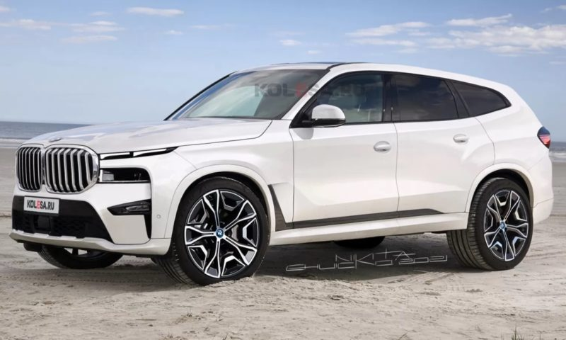 BMW X8 rendered based on recent spy pics and insider information