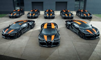 Bugatti Chiron Super Sport 300+ delivery commences for first eight units