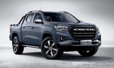 Changan Kaicheng F70 bakkie revealed with Peugeot tech (1)