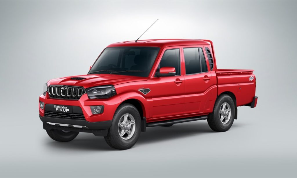 Mahindra Pik Up 2,2 CRDe S11 Double-Cab 4x4 automatic
