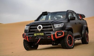 GWM P Series Black Bullet officially unveiled as new flagship offering