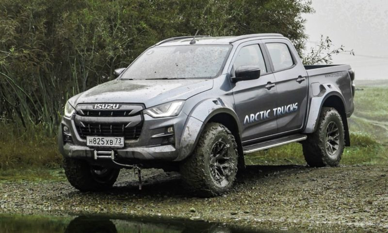 Isuzu D-Max AT35 production version unveiled with full technical specs