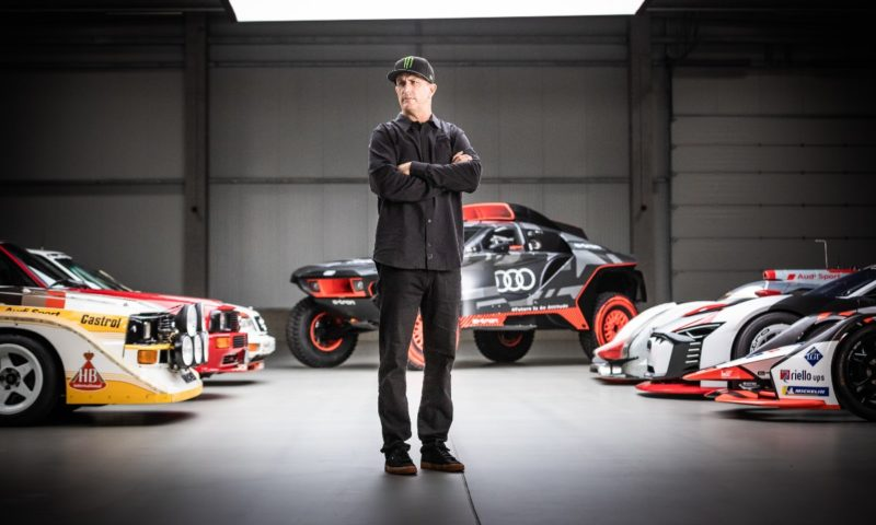 Ken Block officially joins Audi for exclusive future joint projects