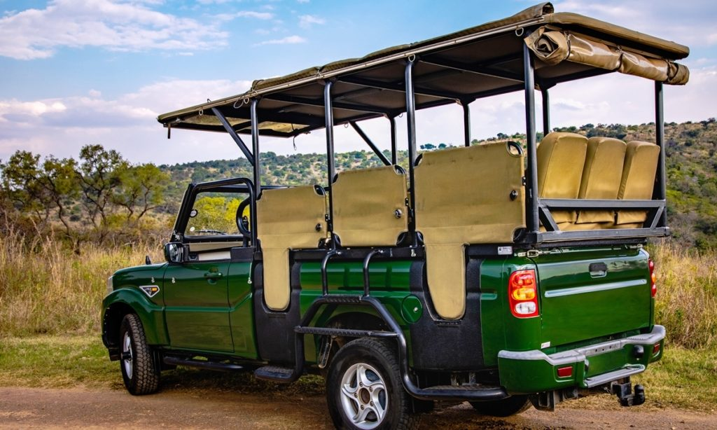 Mahindra Pik Up Game Viewer revealed for tourism businesses