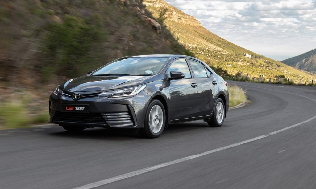Toyota Corolla Quest Exclusive front quarter driving