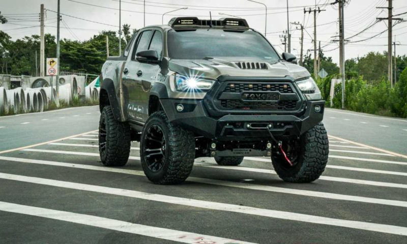 Toyota Hilux gets tough wide-body make-over from RAD Thailand