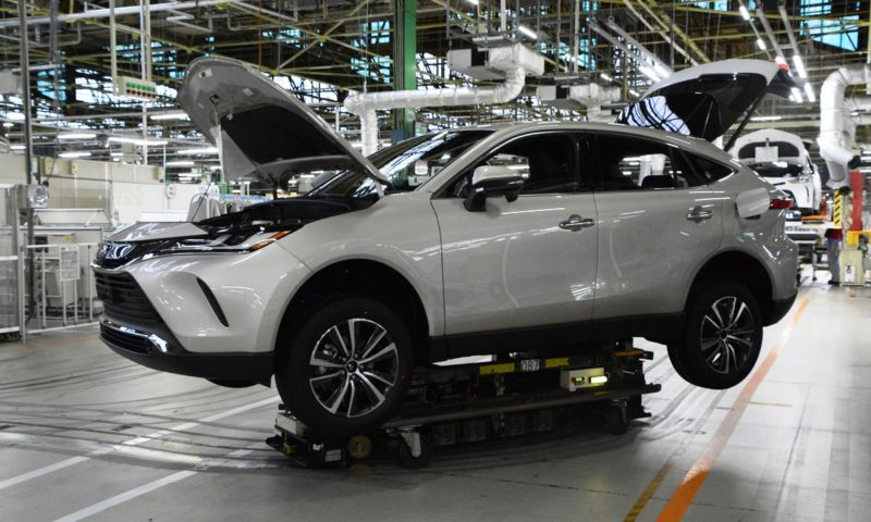 Toyota cuts production at even more plants due to semiconductor crisis