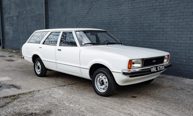 1977 Ford Cortina Estate with 7 000 km goes under the hammer