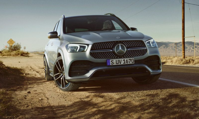 Mercedes-Benz GLE 300d gets power increase with 48-volt system