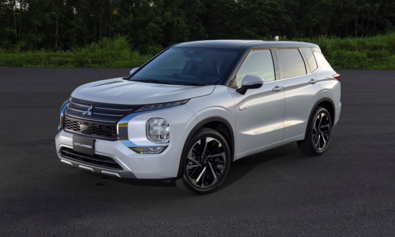 Mitsubishi Outlander PHEV design breaks cover ahead of official reveal