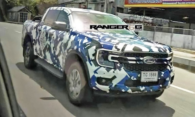 Next-generation Ford Ranger spotted with Maverick-like front-end