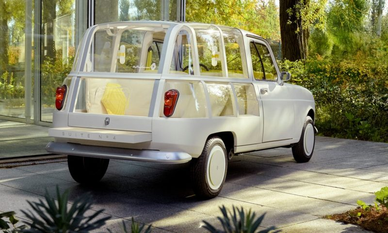 Renault SUITE N°4 revealed as reinvented classic concept car