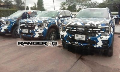UPDATE Next-generation Ford Ranger spotted with Maverick-like front-end