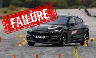 WATCH Ford Mustang Mach-E AWD flops moose test
