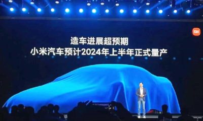 Xiaomi says its EV car line-up will be production-ready by 2024